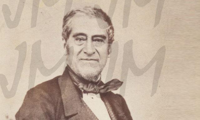 """El abuelo """"chozno"""" Vicente Ygnacio Yslas (el forjador de la fuente de El Chico), papá de Francisco Yslas a su vez abuelito de nuestra abuelita Josefina Bracho Yslas."""